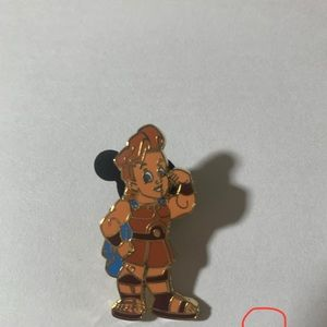 Disney Hercules Toddler Pin